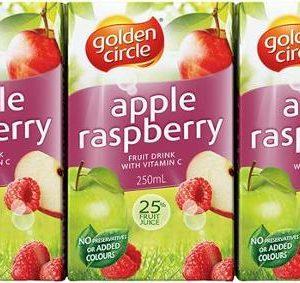 Golden_Circle_Fruit_Drink_Apple_Raspberry_Poppers_250mL_Bx24