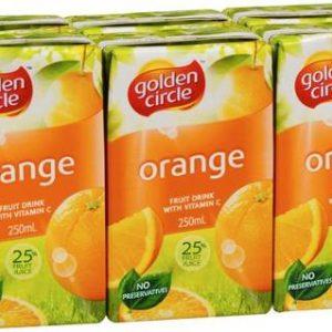 Golden_Circle_Fruit_Drink_Orange_Poppers_250mL_Bx24