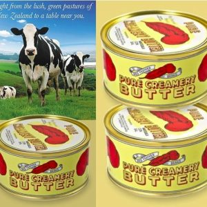 new-red-feather-canned-pure-creamery-butter-cans-emergency-camping-food