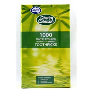 Alpen Toothpick Individually Wrap Mint Pk1000