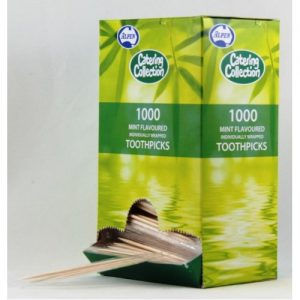 Alpen Toothpick Individually Wrap Mint Pk1000