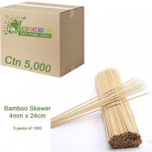 Bamboo Skewer 4mm x 24cm