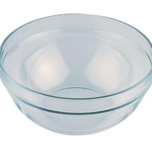 GLASS BOWL FOR BUFFET LADDER