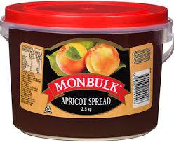 Monbulk Jam Apricot 2.5kg
