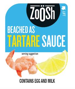 ZOOSH TARTARE SAUCE PORTION CONTROL SQUEEZE 50X11G CTN
