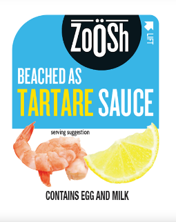 ZOOSH TARTARE SAUCE PORTION CONTROL SQUEEZE 50X11G CTN