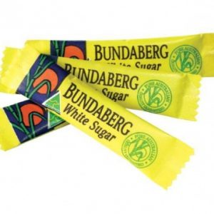 Bundaberg White Sugar Portion Control Sticks 2000x3Gr Carton