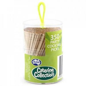 Alpen Toothpick Cocktail Picks Pack 350 Ctn of 12
