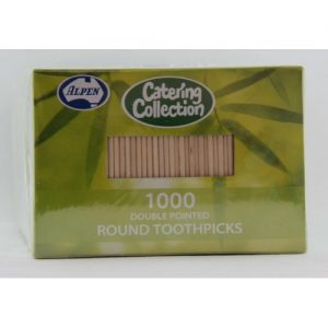 Toothpicks Round Double Pointed Pointed