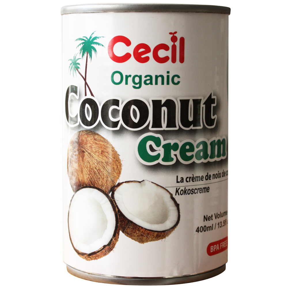 CECIL ORGANIC COCONUT CREAM 400ML