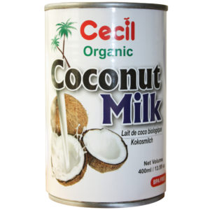 CECIL ORGANIC COCONUT MILK 400ML