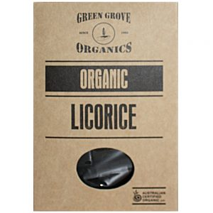 GREEN GROVE LICORICE 180GR