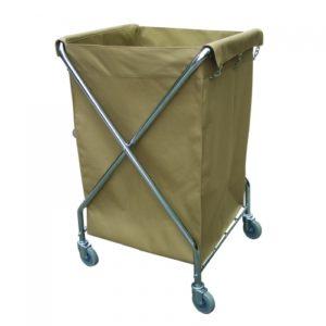 Linen Trolley L616 open-500x500