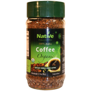 NATIVE ORGANIC INSTANT COFFEE 90GR