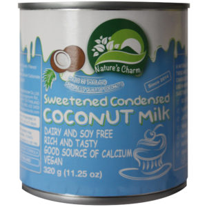 NATURES CHARM SWEETENED CONDENSED COCONUT MILK 320