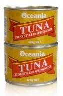 Oceania Tuna Chunk in Springwater 425gr