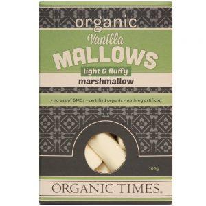 Organic Times Marshmallows Vanilla 100 gram