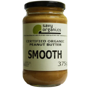 Savy Organic Smooth Peanut Butter