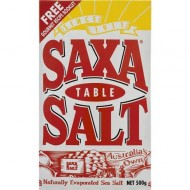 Saxa Salt Table 500gr