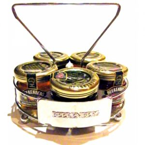 BEERENBERG CHROME JAM CADDY FOR 30GRAM JARS