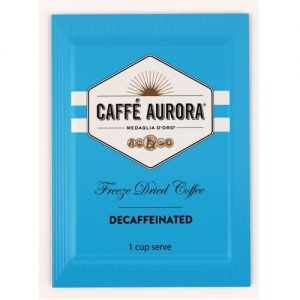Caffe Aurora Freeze Dried Decaf Sachets