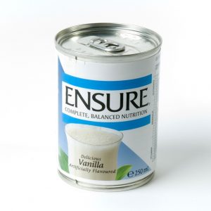 ENSURE LIQUID NUTRITONAL SHAKES VANILLA 250ML
