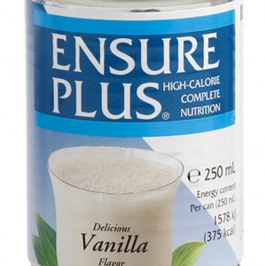 ENSURE PLUS LIQUID NUTRITONAL SHAKES VANILLA 250ML