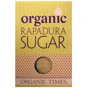 ORGANIC TIMES RAPADURA WHOLE CANE SUGAR