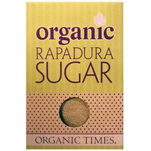 ORGANIC TIMES RAPADURA WHOLE CANE SUGAR