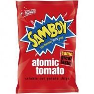 Samboy Potato Chips Atomic Tomato 45gr