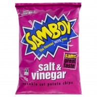 Samboy Potato Chips Salt and Vinegar 45gr