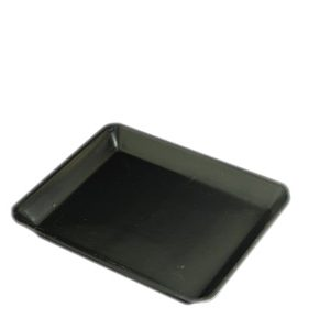 FOAM TRAY 9 X 7 BLACK CTN OF 320