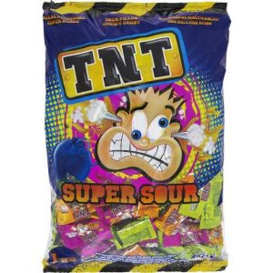 TNT SOUR CHEWS CTN OF 200