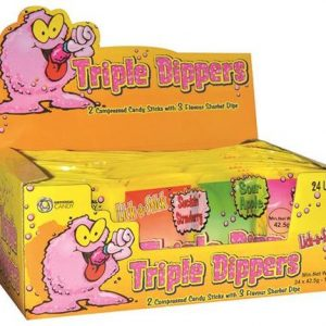 Universal Candy Triple Dippers Sherbet 425gr Ctn of 24