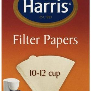 HARRIS 10 - 12 CUP PAPER FILTERS PK40 CTN OF 10