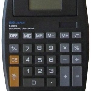 Calculator Desktop Plustron Big Display Tilt Top M9706