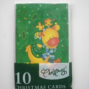 Dats Xmas Cards Budget Pack 10
