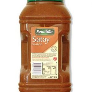 FOUNTAIN SAUCE SATAY 2.5L