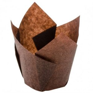Tulip Muffin Wrap Brown 60mm