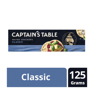 Nabisco Captains Table Crackers Classic 125gr