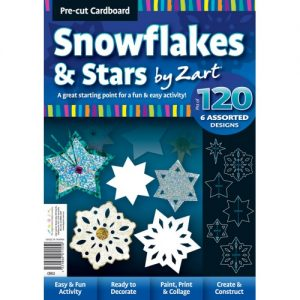 Cardboard Snowflakes & Stars Pk 120