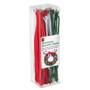 Chenille Stems - Christmas