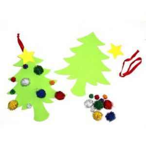 Christmas Pom Pom Tree Kit Pk10