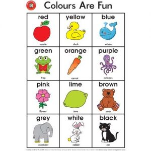 Colours Are Fun Poster