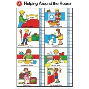 Helping Around Home Poster