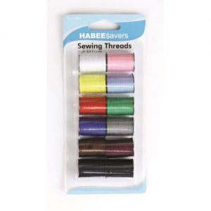 Thread Assorted Colours Pk12