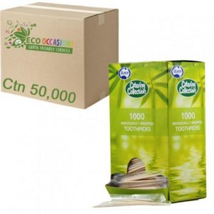 Toothpick Individually Paper Wrapped Pk1000