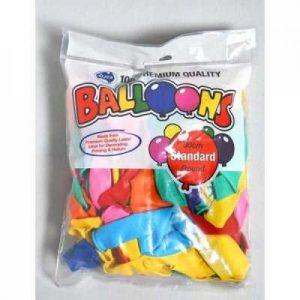 Alpen Balloons Assorted 30cm Bag 100