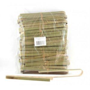 Alpen Bamboo Tongs 160mm Bag 50