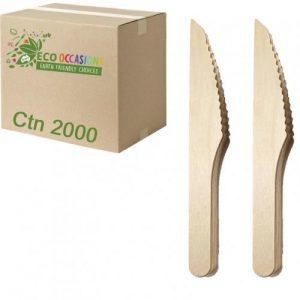 Alpen Wooden Knives 165mm Ctn 2000